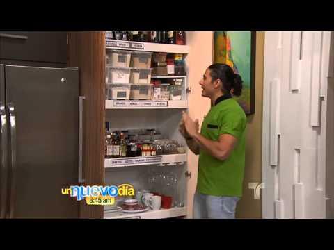 Acomoda tu despensa un nuevo d a telemundo youtube for Como se disena una cocina