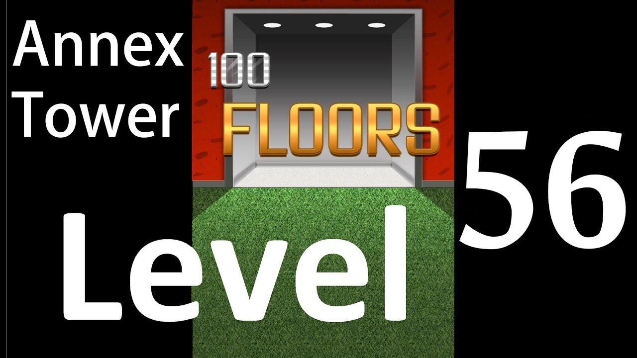 100 Floors Level 56 Annex Tower Solution Walkthrough Youtube