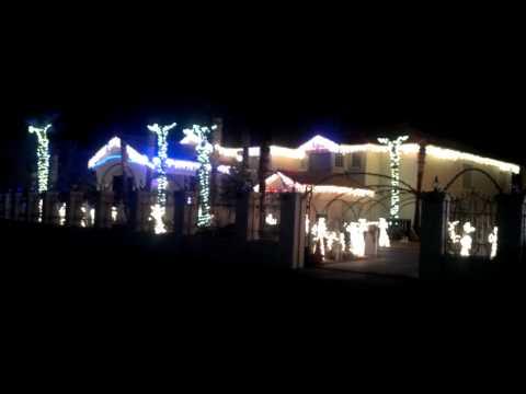 Fred Loya Light show -El Paso