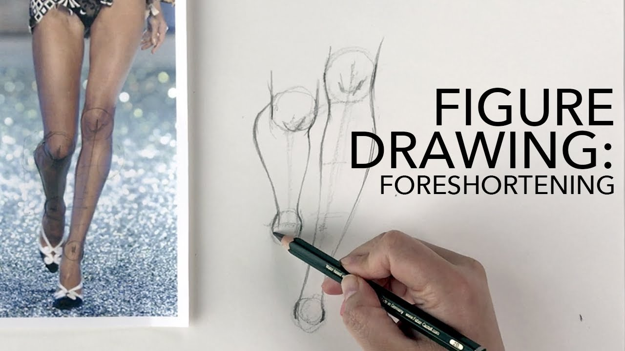 Figure Drawing Tutorial: Foreshortening (Men, Women, Kids) - YouTube