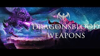 Guild Wars 2    Dragonsblood Weapons Showcase