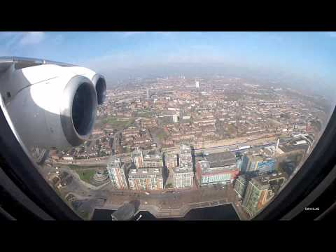 Wonderful Day to land at London City Airport!