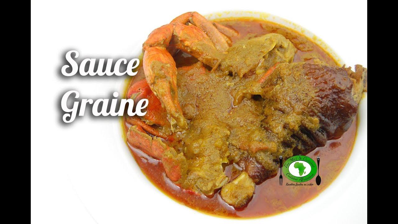 Sauce graine c te d 39 ivoire youtube - Recette de cuisine ivoirienne gratuite ...