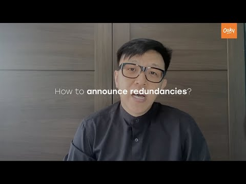 How to Announce Redundancies by Jones Liew   Oaky