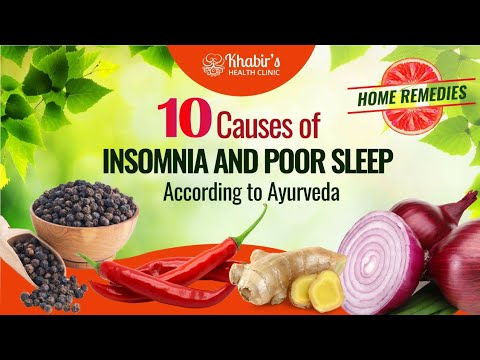 10 Causes of insomnia and poor sleep with natural treatments!