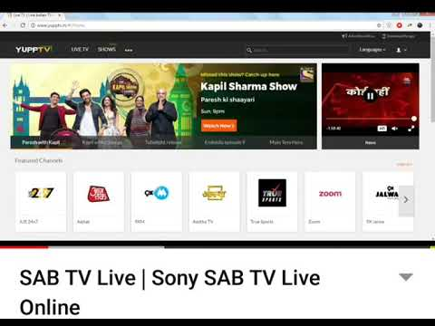 Sony Sab Tv Live Online