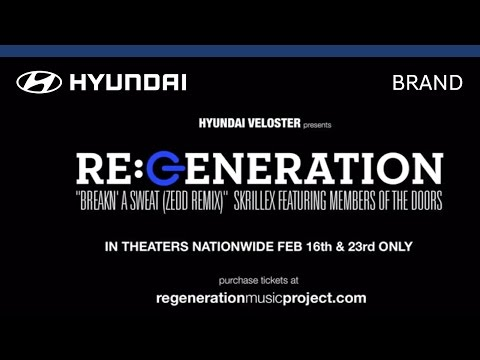 Hyundai | Veloster | Re:Generation | Skrillex – 'Breakn a Sweat' (Zedd Remix)