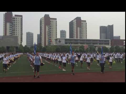 Wuhan Open - Calisthenics with Carla Suarez Navarro