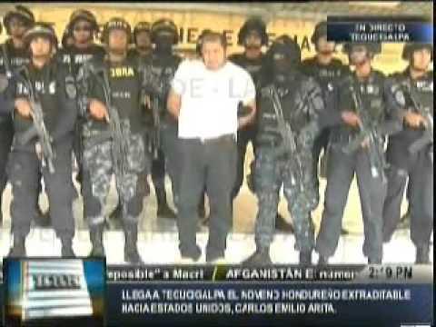Llega a la capital el extraditable Emilio Arita ligado a los Valle Valle