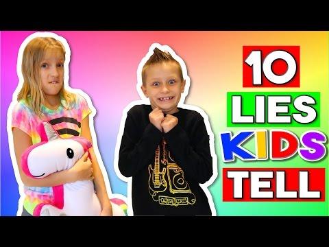 10 LIES KIDS TELL