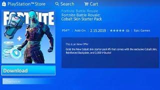 *NEW* How to Get STARTER PACK 5 in Fortnite! (Cobalt Starter Pack)