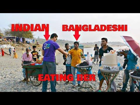 Eating Berries From Bangladesh HD | India Bangladesh Border