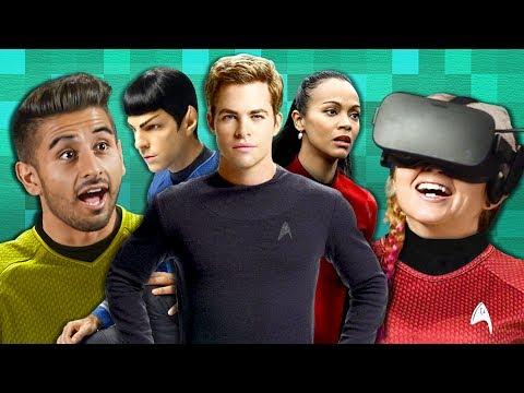 REACTORS FLY A SPACESHIP TOGETHER?! | Star Trek Bridge Crew (React: Co-Op Gaming)