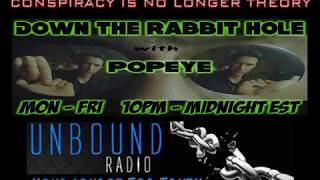 Down The Rabbit Hole w/ Popeye (06-26-2013) Minority Report Is Real & Fixing The Homeless Problem