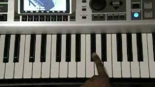 "How to Play Keri Hilson ""Energy"" Piano tutorial"
