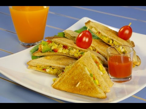 #وجبات_15_ثانية | سندوتشات التوست الصحية
