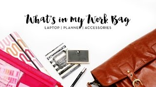 What's in my work bag | makeuptia