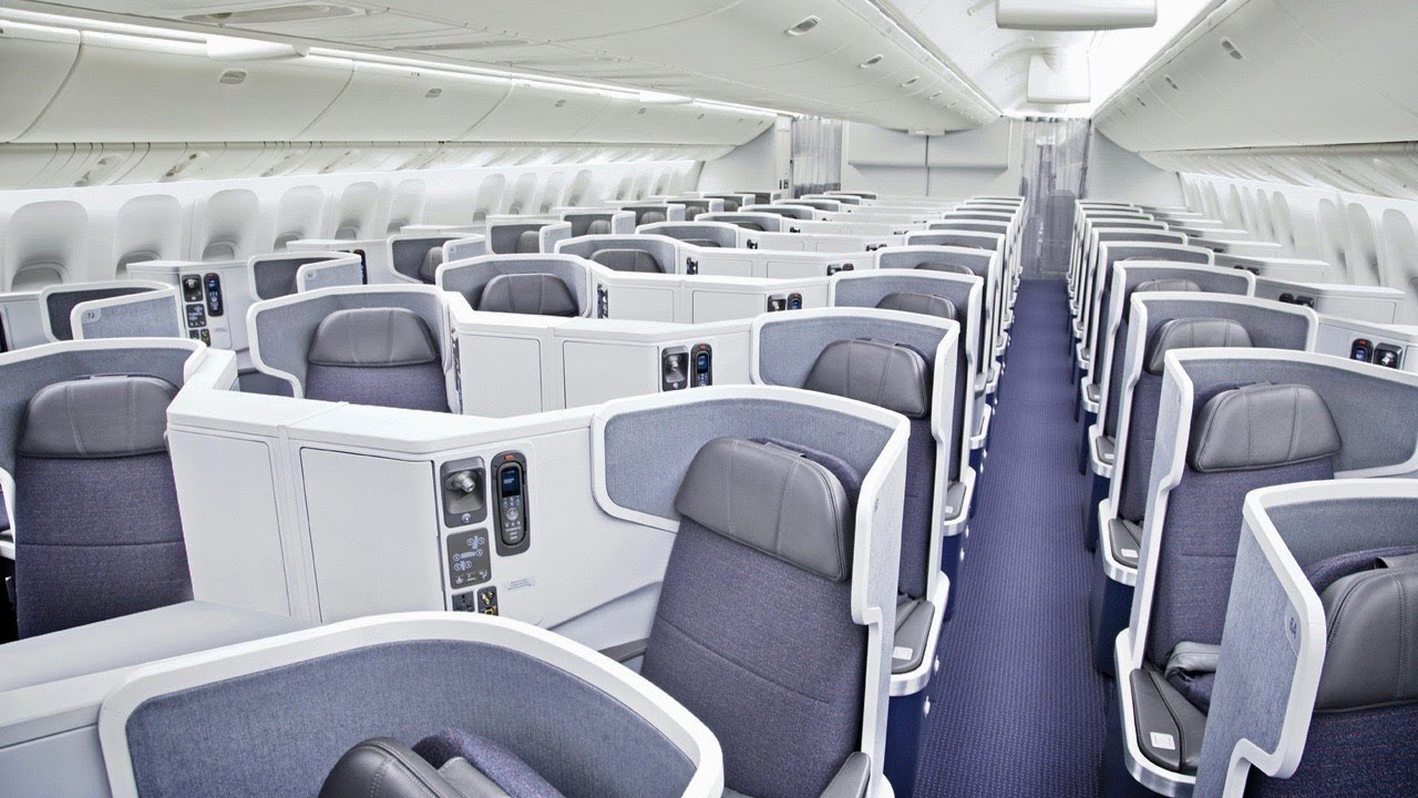 American Airlines Boeing 777 Business Class from Miami to London
