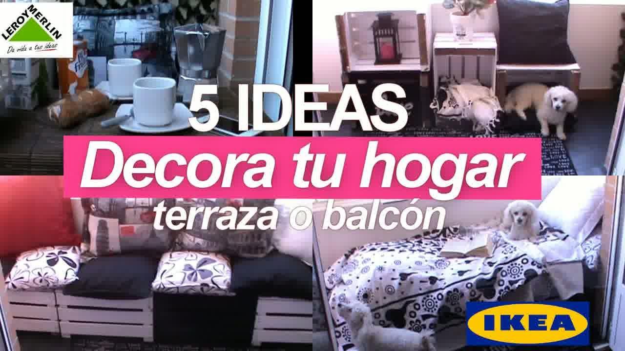 5 ideas decora tu hogar terraza o balc n youtube - Decora tu terraza ...
