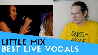 Voice Teacher Reacts to Little Mix's Best Live Vocals