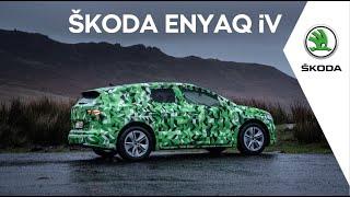 ŠKODA ENYAQ iV: Este primul SUV 100% electric ŠKODA cu autonomie de până la 500 km