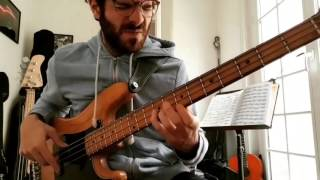 BUTTS T**S MONEY // KNOWER (Bass Cover)