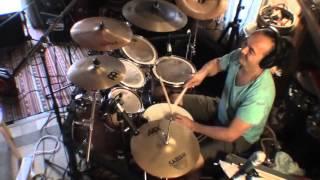 Still Blazing Alborosie Song - A version by Reggae Drummer Freddy Poncin