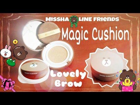 [UNBOX] Missha | LINE friends ♥ Magic Cushion
