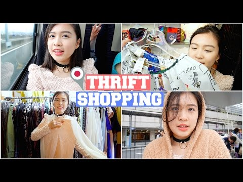 THRIFT SHOPPING IN JAPAN l Travel Diary
