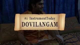 #1 INSTRUMENT-TODAY #instrumenttoday | Percussion Instruments Series | DOVILANGAM | SarveshKarthick