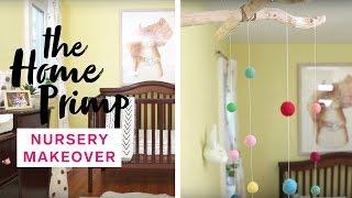 Baby Nursery Gets A Major Makeover On A Budget | DIY Mobile | The Home Primp