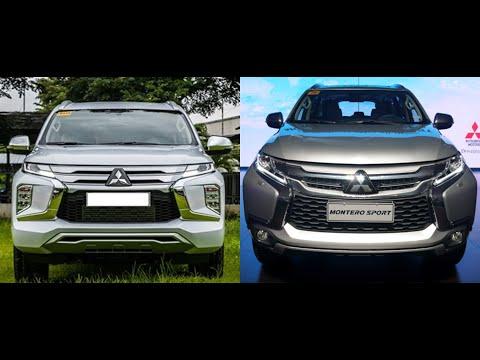 Comparison Mitsubishi Montero Sport 2020 Facelift VS 2019 Models