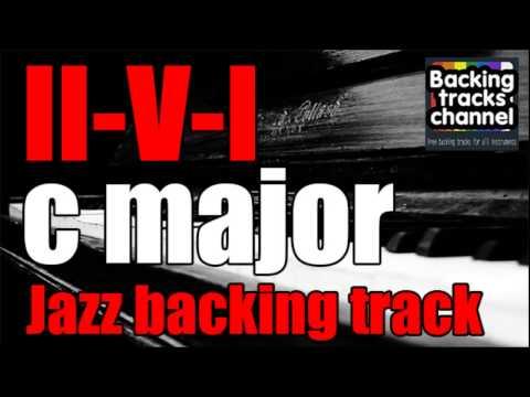 Jazz Backing Track | II-V-I | C major |