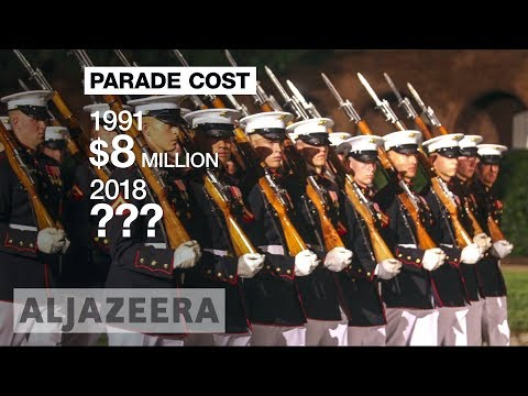 🇺🇸 Trump's military parade idea 'fantastic waste of money'