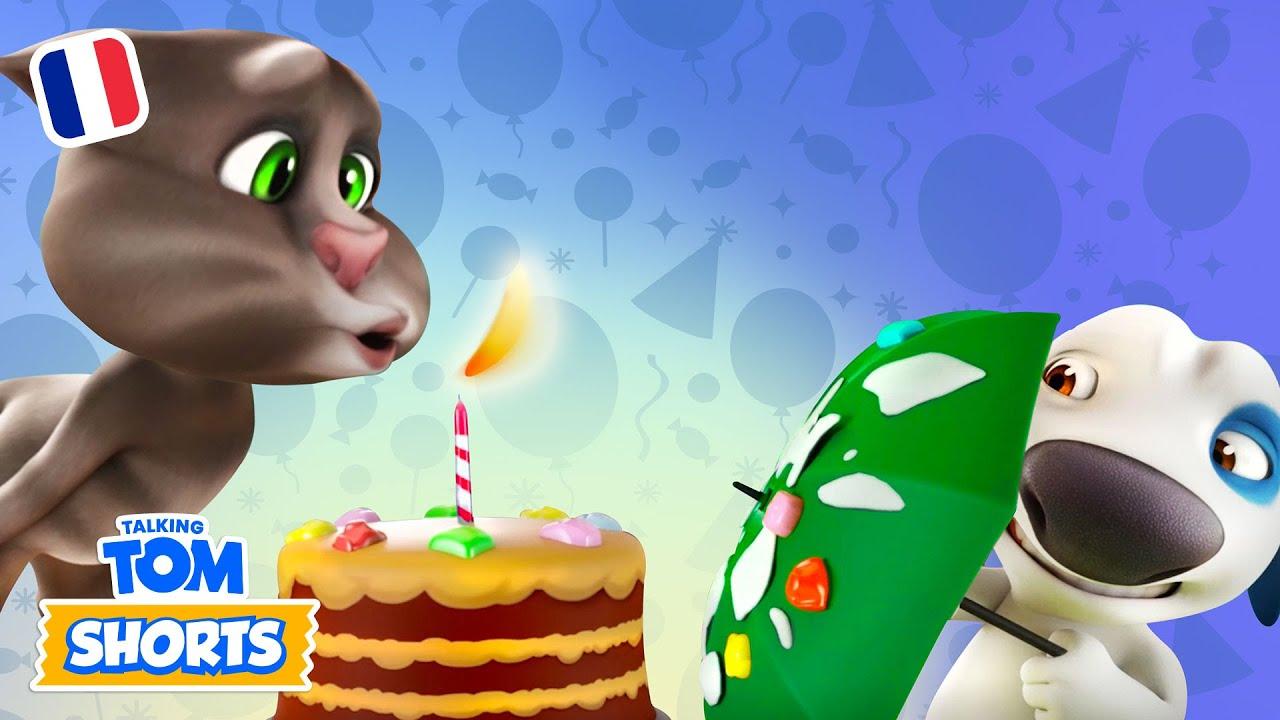 Talking Tom Shorts 44 - Super gâteau d'anniversaire !