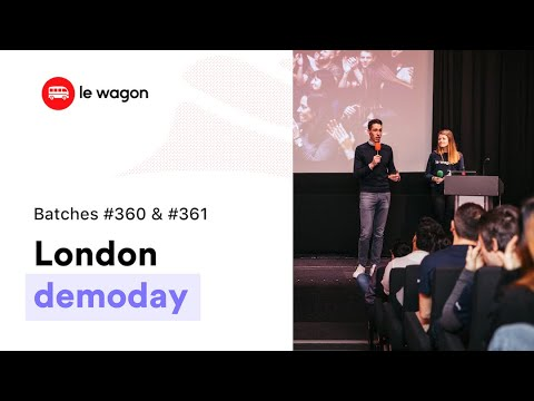 Coding Bootcamp London | Le Wagon Demo Day - Batches #360 And #361