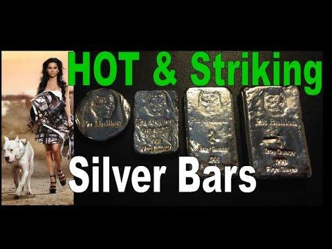 Silver Bars PIT BULLION Vintage Style