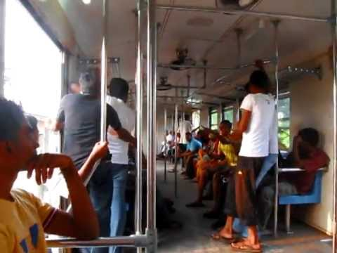 Yuan Yuan L - On Train from Lavinia (Dehiwala) to Negombo in Sri Lanka - Feb 25, 2012 (China)