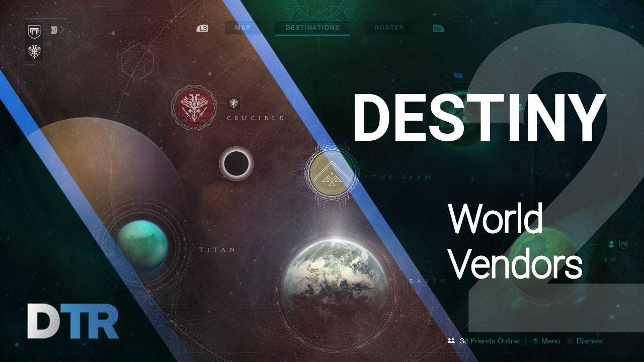 3344af81396 Destiny 2  World Vendors! DestinyTracker