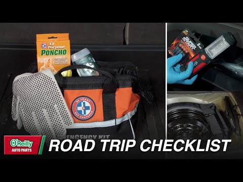 O'Reilly Auto Road Trip Checklist