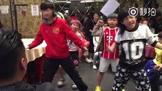 Lâm thu nam, văn chí (long quyền tiểu tử) nhảy boy in luv-BTS