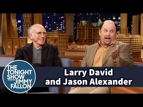 Larry David and Jason Alexander Don