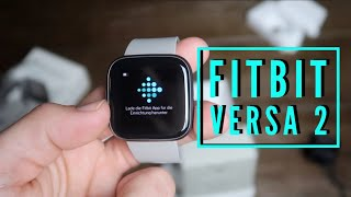 Unboxing and Setup Fitbit Versa 2 SmartWatch