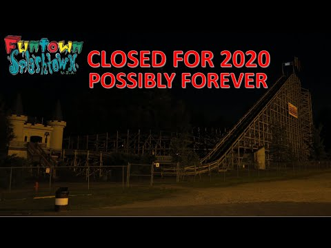 Funtown Splashtown USA Closed For 2020 And Potentially Forever