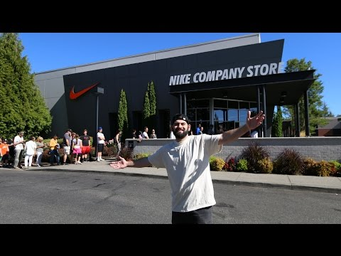 DREAM NIKE AND ADIDAS STORE!! (50 PERCENT OFF EVERYTHING)