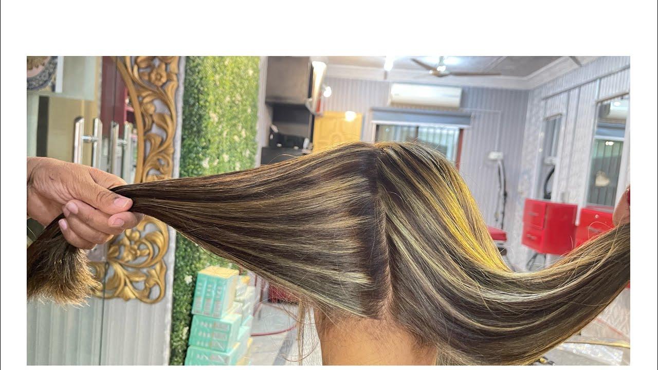 Omber color#Highlighting hair#hair color#tint hair#hair