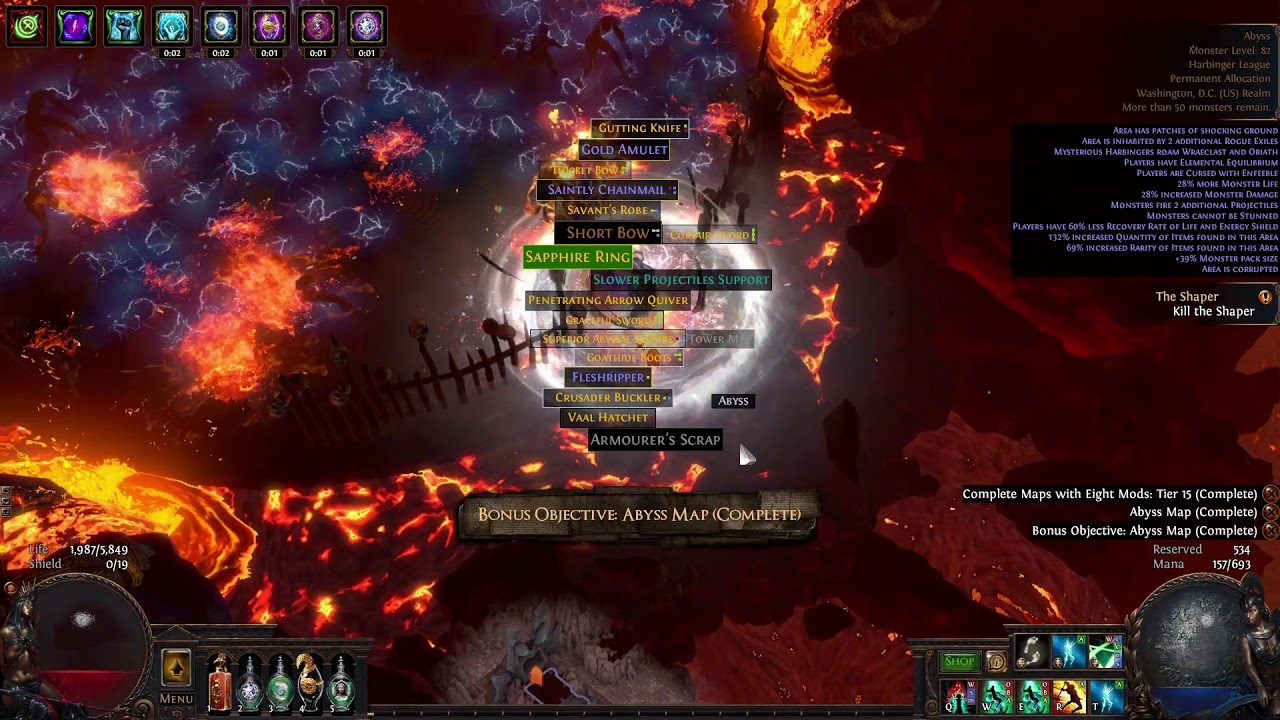 800 K Dps Abyss Boss Kill