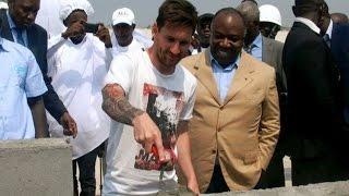 """El aspecto """"sucio y sin afeitar"""" de Messi causa revuelo en Gabón ◉ Polemicas ◉ 2015"""