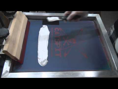 How To Screen Print: Creamy Smooth Opaque Plastisol White Ink