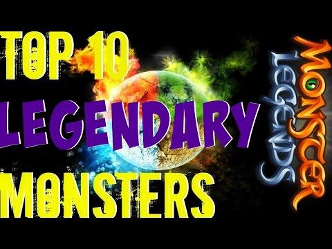 Monster Legends |  Top10 Legendary Monsters | Best Legendary Monsters